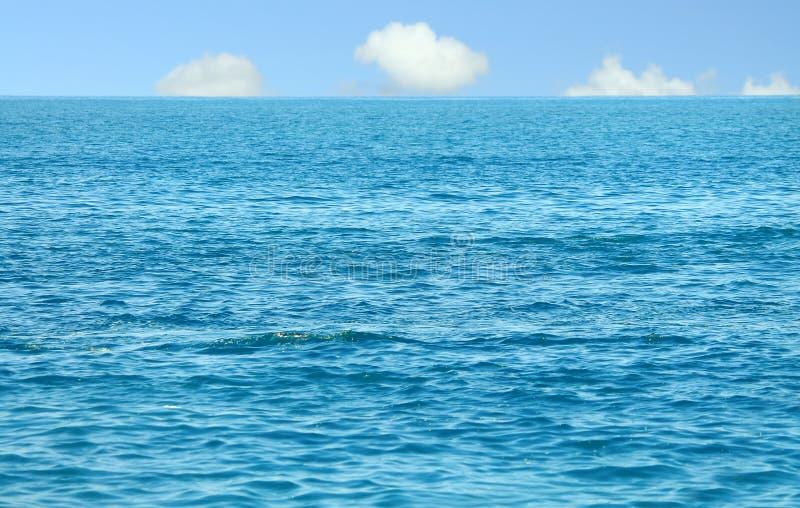 Horizon op zee royalty-vrije stock fotografie