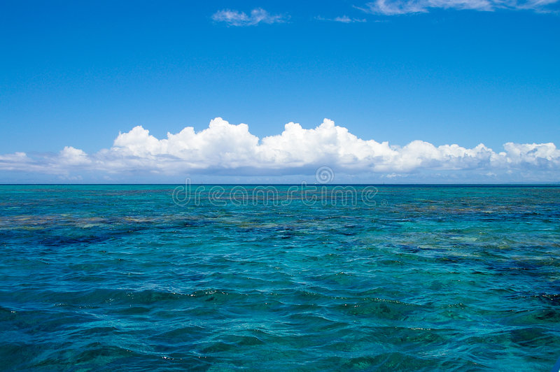 Download Horizon in the pacific stock image. Image of alone, clear - 4514975