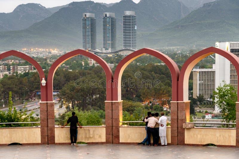 Horizon Pakistan d'Islamabad photographie stock libre de droits