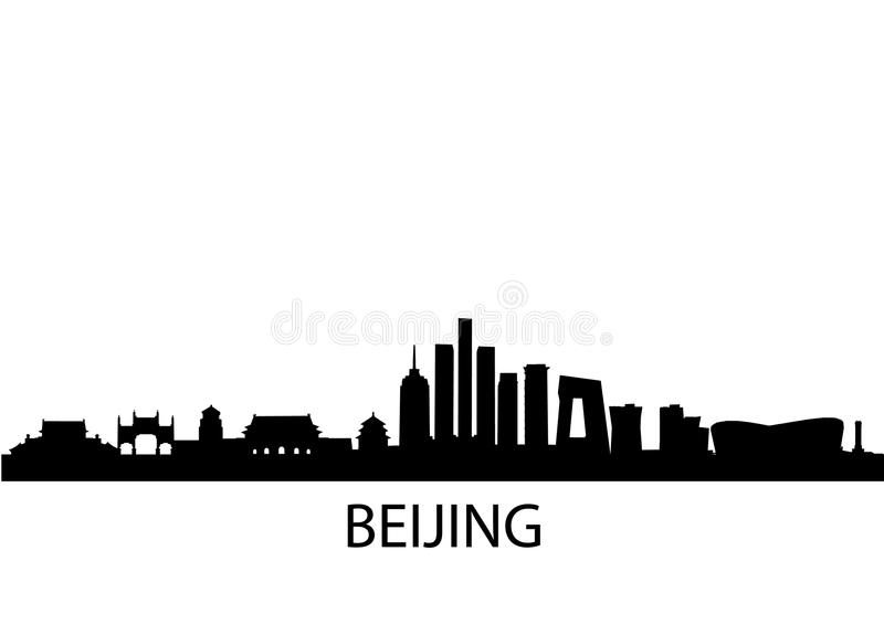Horizon Peking vector illustratie
