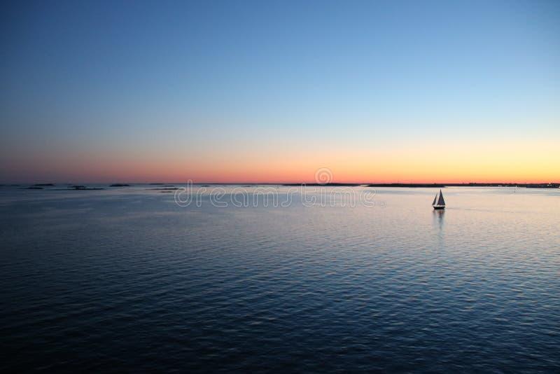 Horizon, Sky, Water, Calm stock image