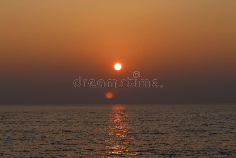 Horizon, Sunrise, Sun, Sea stock images