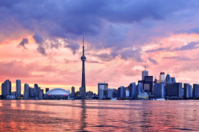 horizon Toronto photos stock