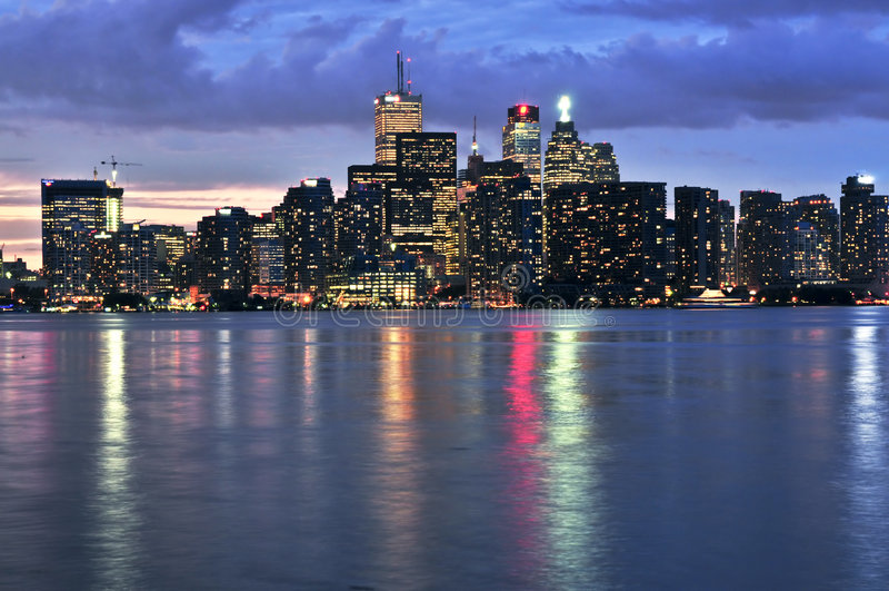 horizon Toronto photographie stock