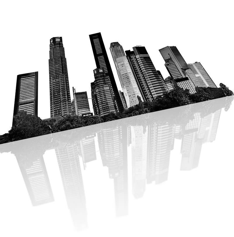 Horizon urbain illustration de vecteur