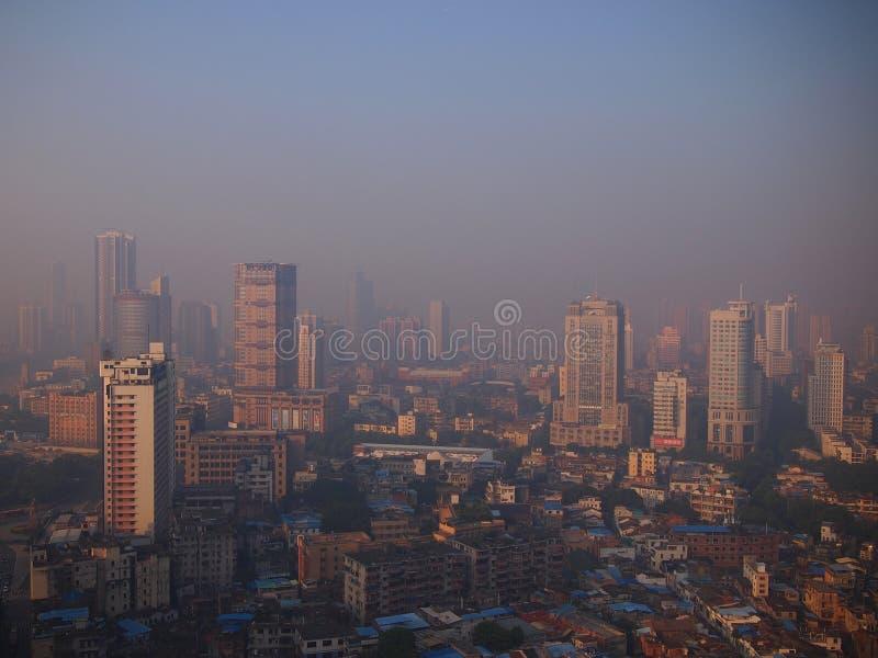 Horizon urbain de Guangzhou photo libre de droits