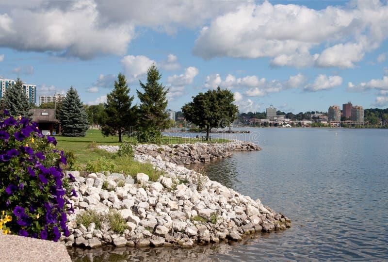 Horizon van Barrie in Ontario stock afbeeldingen