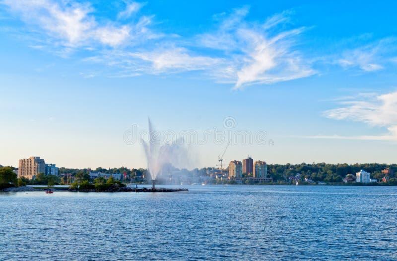 Horizon van Barrie, Ontario royalty-vrije stock afbeelding