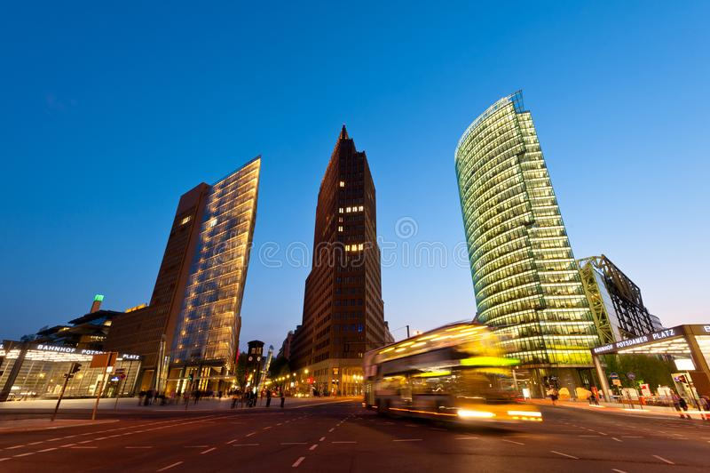 Horizon van Berlijn, Duitsland stock afbeelding