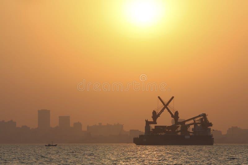 Horizon van Bombay royalty-vrije stock afbeeldingen