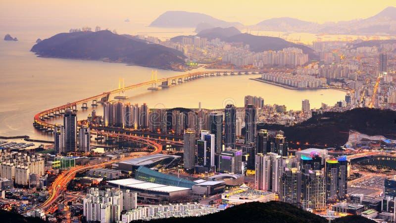 Busan, Zuid-Korea stock foto's
