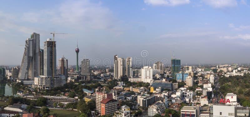 Horizon van Colombo stock foto