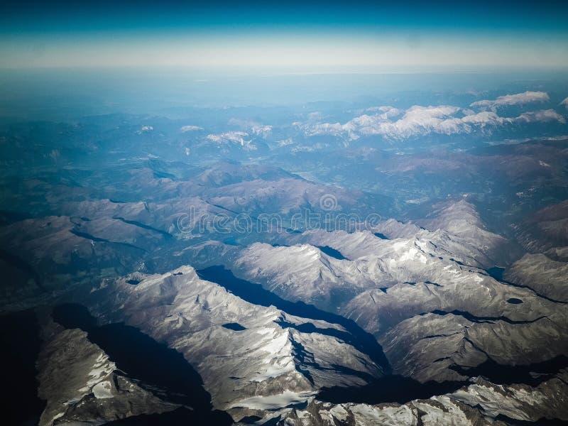 Horizon van de aarde royalty-vrije stock foto