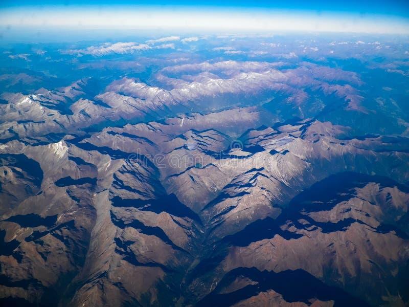 Horizon van de aarde stock foto's