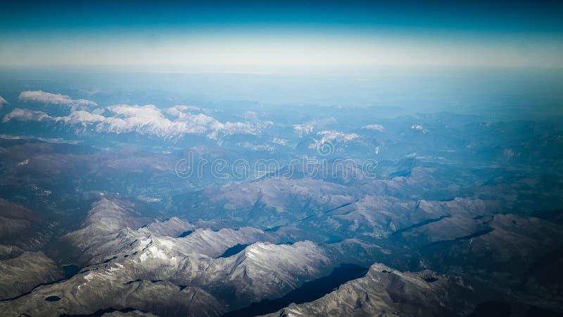 Horizon van de aarde royalty-vrije stock afbeeldingen