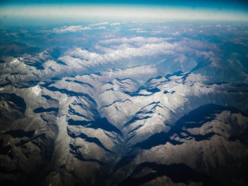 Horizon van de aarde royalty-vrije stock afbeelding