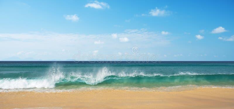 Horizon van de zee Thiland stock afbeeldingen