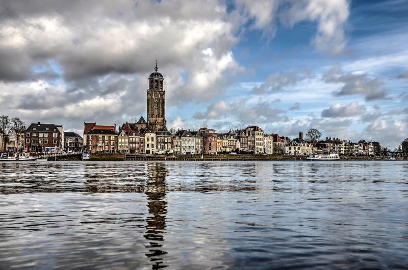 Horizon van Deventer royalty-vrije stock foto