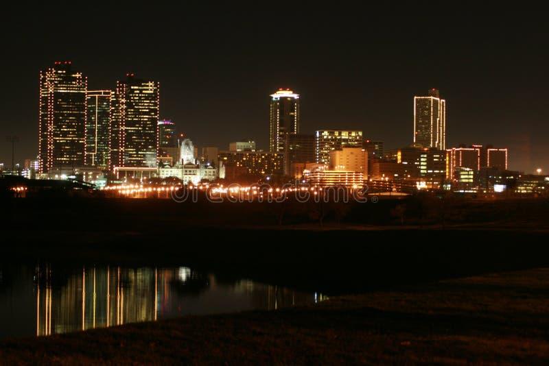 Horizon van Fort Worth royalty-vrije stock fotografie