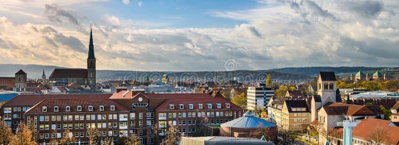 Horizon van Hildesheim, Duitsland royalty-vrije stock afbeelding
