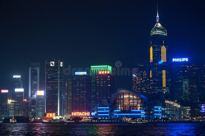 Horizon van Hongkong stock foto's