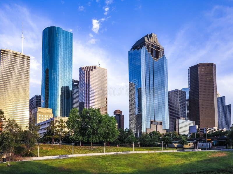 Horizon van Houston royalty-vrije stock foto's
