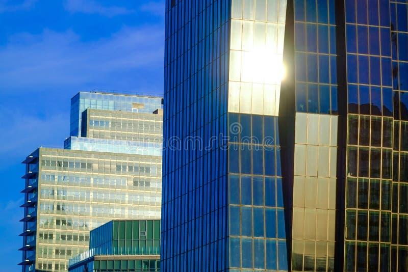 Horizon in Wenen royalty-vrije stock afbeelding