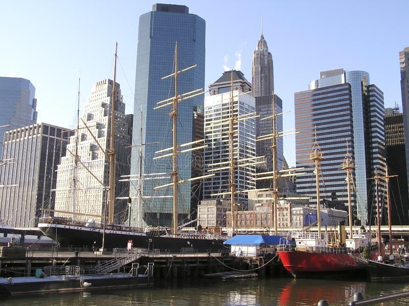 Horizonnen 6 van New York stock afbeelding