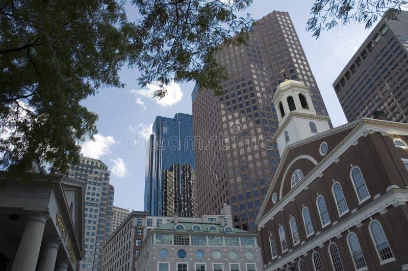 Horizons de Boston images libres de droits