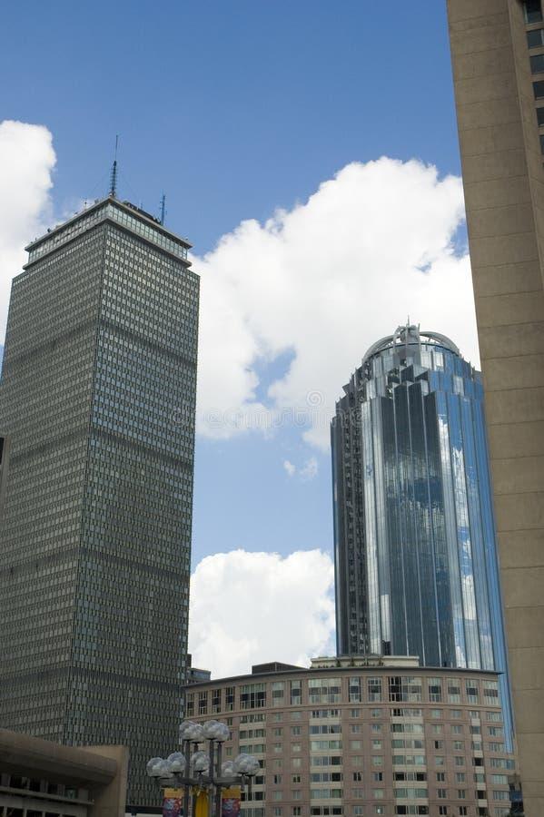 Horizons de ciel et terre de Boston photos libres de droits