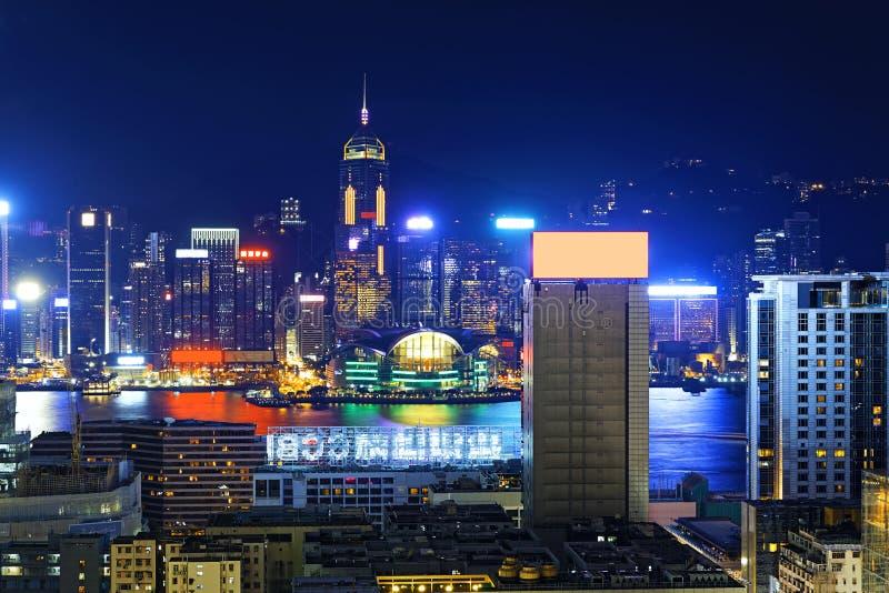 Horizons de Hong Kong City photographie stock
