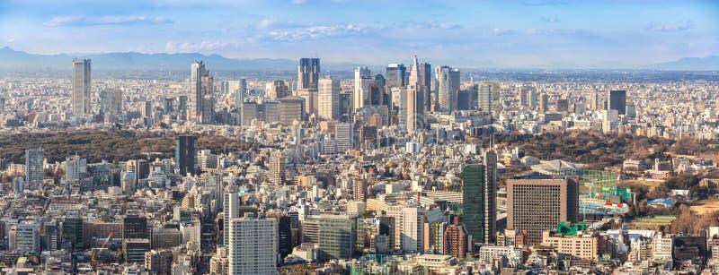 Horizons de Tokyo Shinjuku image libre de droits