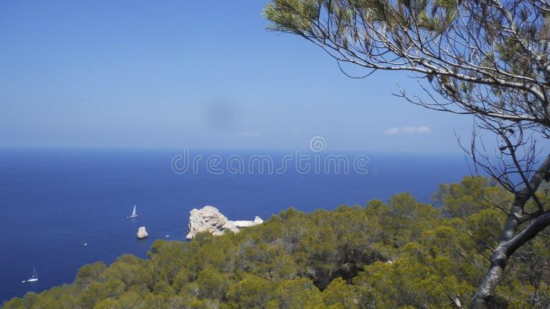 Horizont моря стоковые фотографии rf