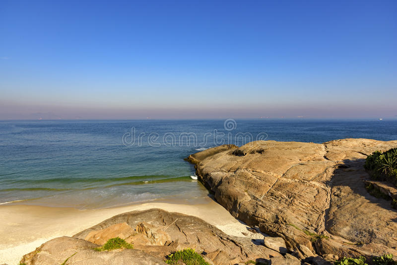 Horizont am Strand des Teufels stockbilder