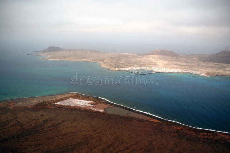 Horizont von der Küste lizenzfreie stockfotos