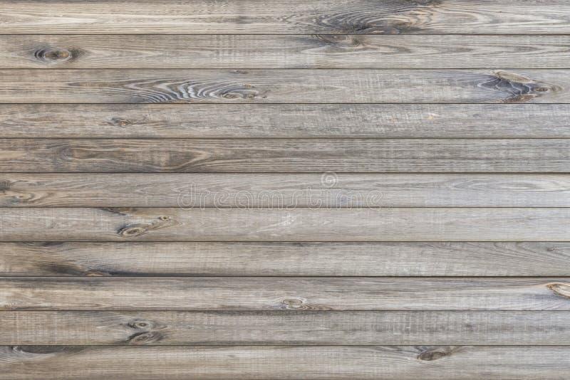 Horizontaal houtexture achtergrondoppervlak met natuurlijk patroon Rustige houten tafelweergave stock foto's