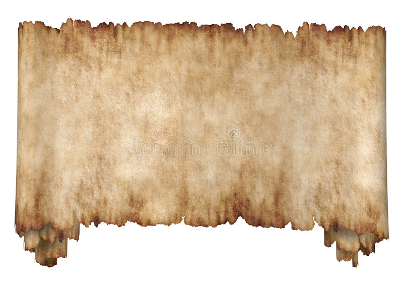 Horizontaal manuscript 2 royalty-vrije stock afbeelding