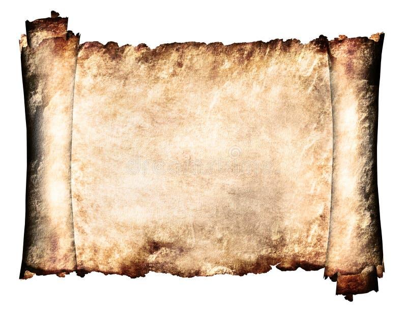 Horizontaal Manuscript vector illustratie