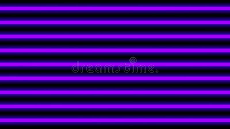 Horizontal élégant de violette de faisceau lumineux pour le fond, de poutre géométrique d'éclat de lumière de disco lignes vertic illustration stock