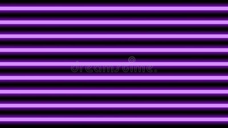 Horizontal élégant pourpre de faisceau lumineux pour le fond, de poutre géométrique d'éclat de lumière de disco lignes verticales illustration stock
