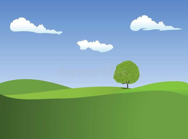Horizontal illustration stock