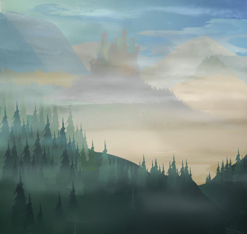 Horizontal illustration de vecteur