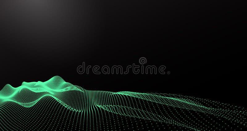 Horizontal abstrait de vecteur illustration de vecteur