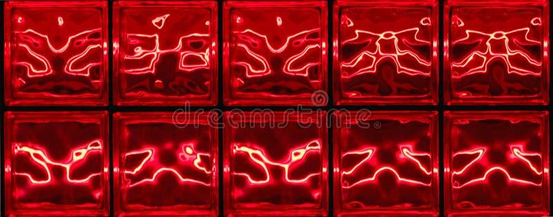 Horizontal abstrait rouge