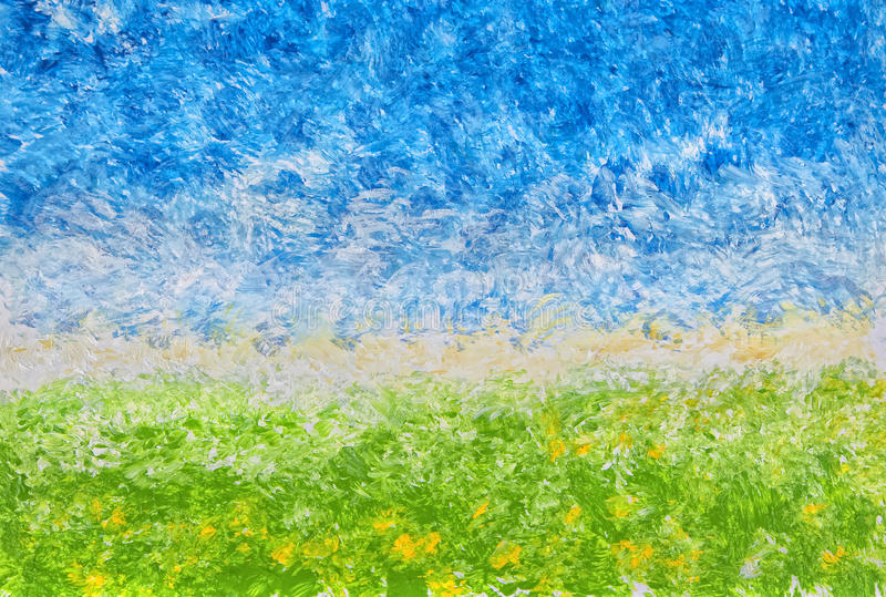 Horizontal acrylique abstrait photo stock