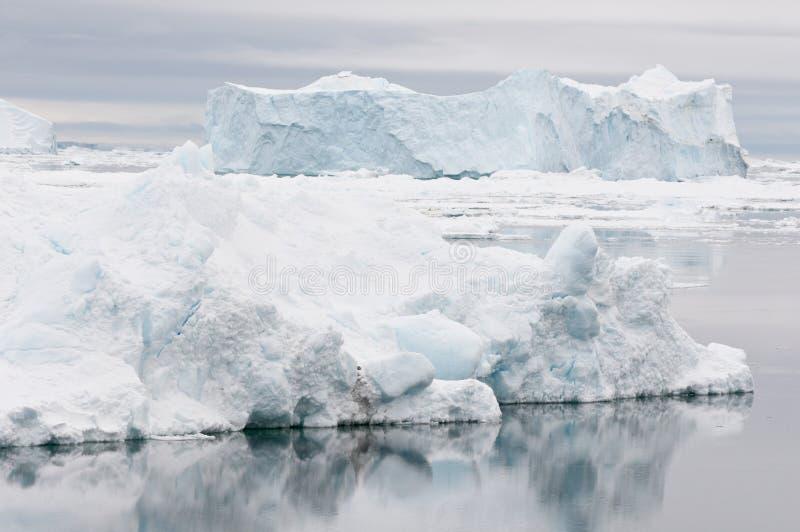 Horizontal antarctique photos stock