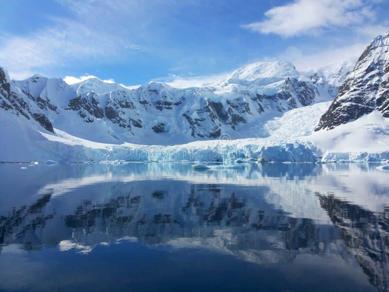 Horizontal antarctique photographie stock libre de droits