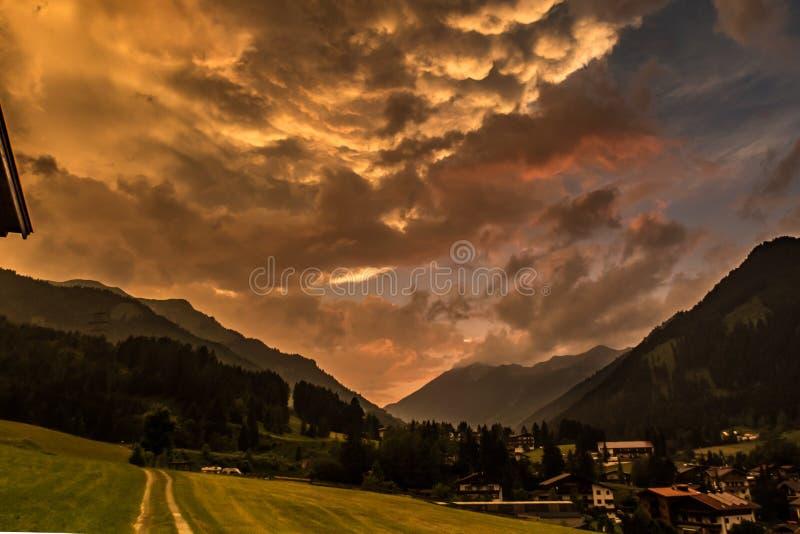 Horizontal apocalyptique photographie stock