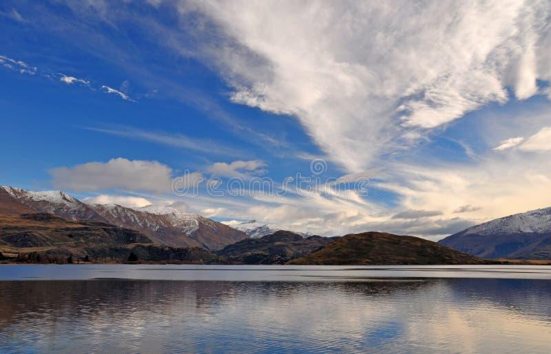 Horizontal aspirant de support, Otago Nouvelle Zélande images libres de droits