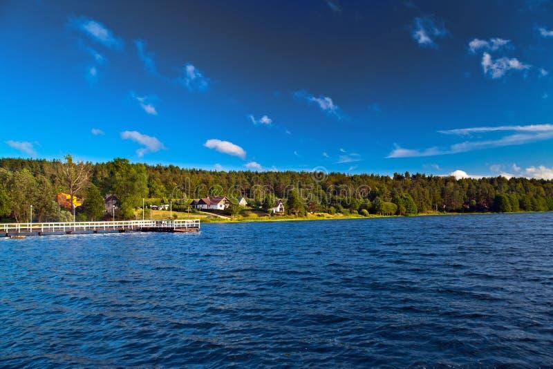 Horizontal au lac photos libres de droits
